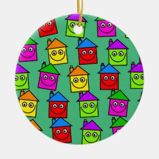 Happy House Wallpaper Christmas Ornaments