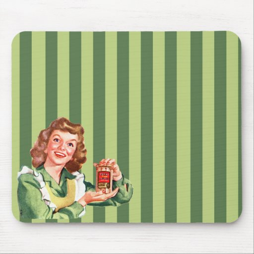 Happy House Wife Mousepad