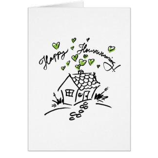 Happy Housewarming 2 Greeting Card