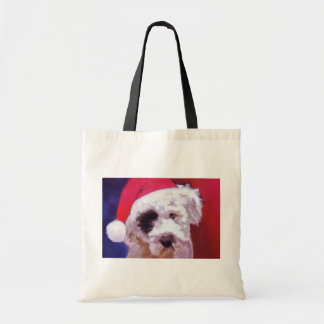 Happy Howl-a-Days! Budget Tote Bag