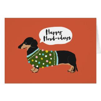 Happy Howl-idays Card