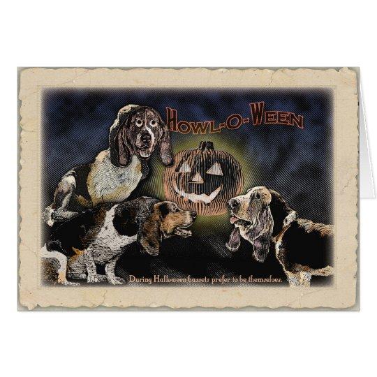 Happy Howl-o-ween Card