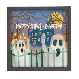 Happy Howl-O-Ween Jewelry Box