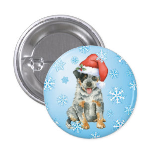 Happy Howliday ACD 1 Inch Round Button