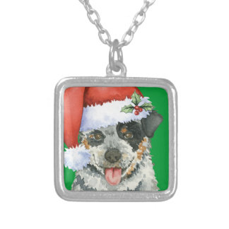 Happy Howliday ACD Silver Plated Necklace