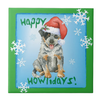 Happy Howliday ACD Small Square Tile