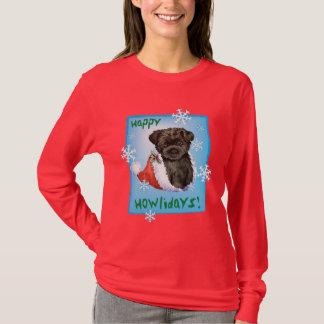 Happy Howliday Affenpinscher T-Shirt