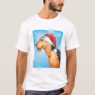 Happy Howliday Airedale T-Shirt