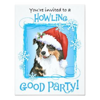 Happy Howliday Aussie Card