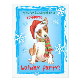 Happy Howliday Basenji Card
