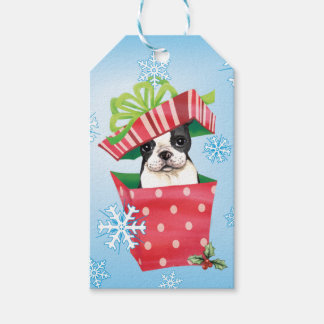 Happy Howliday Boston Pack Of Gift Tags