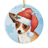 Happy Howliday Chihuahua Christmas Tree Ornaments