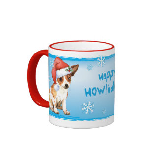 Happy Howliday Chihuahua Coffee Mug