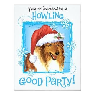 Happy Howliday Collie Card