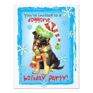 Happy Howliday German Shepherd Card