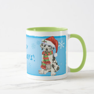 Happy Howliday Great Dane Mug