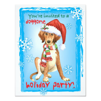 Happy Howliday Saluki Card