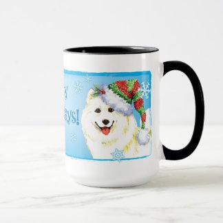 Happy Howliday Samoyed Mug