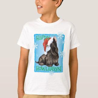 Happy Howliday Scottish Terrier T-Shirt