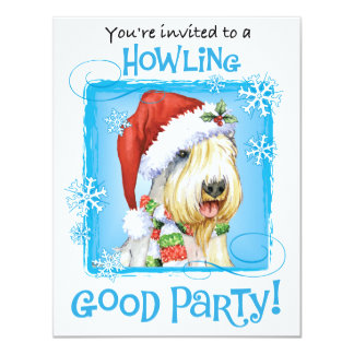 Happy Howliday Sealyham Terrier Card