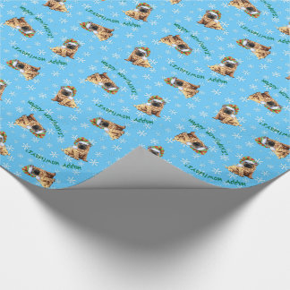 Happy Howliday Shar-Pei Wrapping Paper