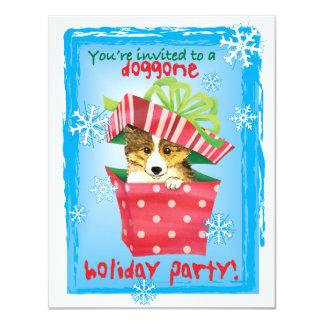 Happy Howliday Sheltie Card
