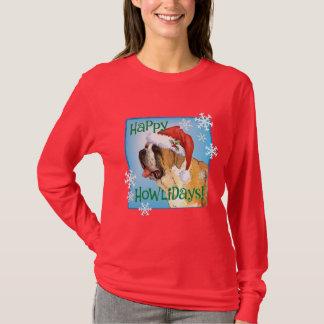 Happy Howliday St. Bernard T-Shirt