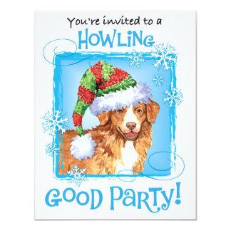 Happy Howliday Toller Card