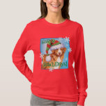 Happy Howliday Toller T-Shirt