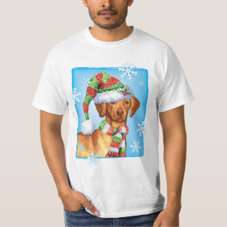 Happy Howliday Vizsla T-Shirt