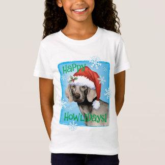 Happy Howliday Weimaraner T-Shirt