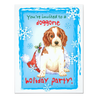 Happy Howliday Welshie Card