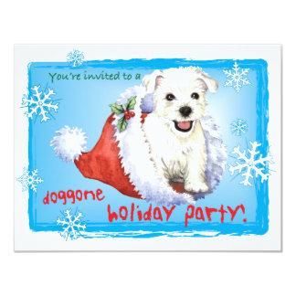 Happy Howliday Westie Card