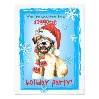 Happy Howliday Wheaten Card