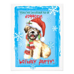 Happy Howliday Wheaten Personalized Announcement