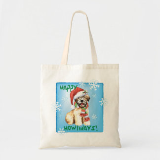 Happy Howliday Wheaten Tote Bag