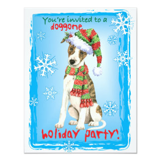 Happy Howliday Whippet Card