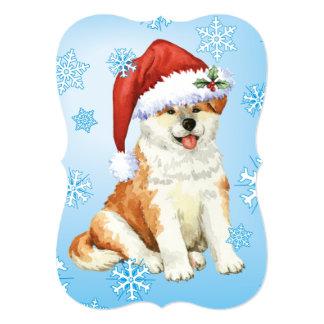 Happy Howlidays Akita Card