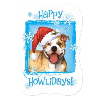 Happy Howlidays APBT Card