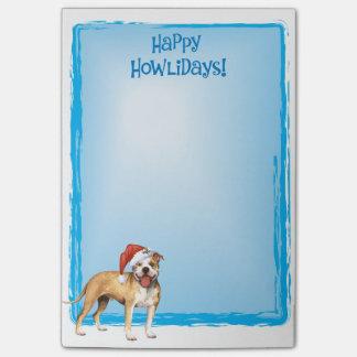 Happy Howlidays APBT Post-it Notes