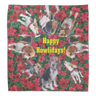 Happy Howlidays Beale Christmas Bandana