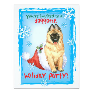 Happy Howlidays Belgian Tervuren Card
