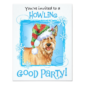 Happy Howlidays Berger Picard Card