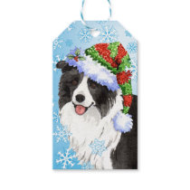 Happy Howlidays Border Collie Gift Tags