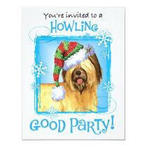Happy Howlidays Briard Card