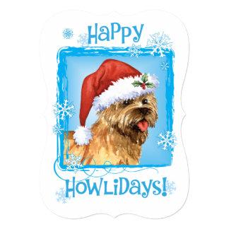 Happy Howlidays Cairn Terrier Card