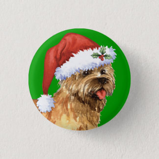 Happy Howlidays Cairn Terrier Pinback Button