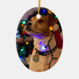Happy Howlidays! Ceramic Ornament