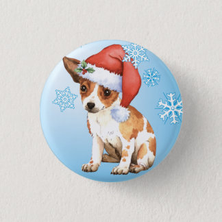 Happy Howlidays Chihuahua Pinback Button