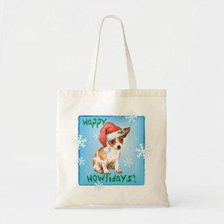 Happy Howlidays Chihuahua Tote Bag